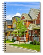 Suburban Homes Spiral Notebook