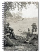 Texas: Cowboys, C1908 Spiral Notebook