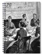 Thanksgiving, 19th Century Spiral Notebook