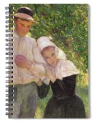 The Convalescent Spiral Notebook