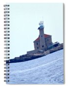 The Lighthouse Close To Primosten Spiral Notebook