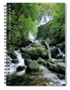 Torc Waterfall, Killarney, Co Kerry Spiral Notebook