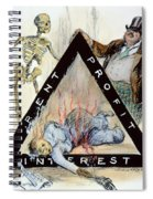 Triangle Factory Fire Spiral Notebook