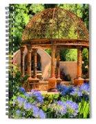 Tuscan Garden Spiral Notebook