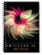 Untitled 34 Spiral Notebook