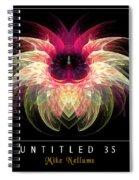 Untitled 35 Spiral Notebook