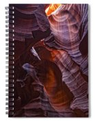 Upper Antelope Canyon, Arizona Spiral Notebook