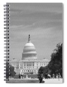 Us Capitol Spiral Notebook