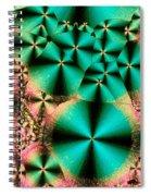 Vitamin B1 Crystal Spiral Notebook