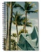 Wailea Beach Maui Hawaii Spiral Notebook