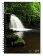 West Burton Falls In Wensleydale Spiral Notebook