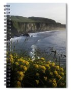 Wildflowers At The Coast, County Spiral Notebook