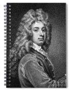William Congreve Spiral Notebook