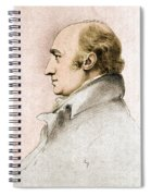 William Hyde Wollaston, English Chemist Spiral Notebook