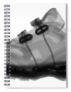 X-ray Of Childs Shoe Spiral Notebook