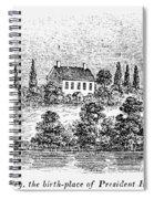 William Henry Harrison Spiral Notebook