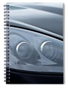 2002 Chevrolet Corvette Head Light Spiral Notebook