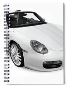 2008 Porsche Boxster S Sports Car Spiral Notebook