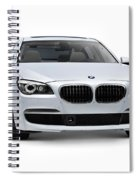 2010 Bmw 760li Individual Luxury Sedan Spiral Notebook