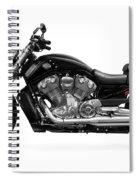 2010 Harley-davidson Vrsc V-rod Muscle Spiral Notebook