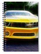 2012 Chevrolet Camaro Rs Spiral Notebook