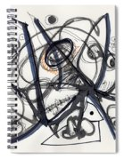 2012 Drawing #1 Spiral Notebook