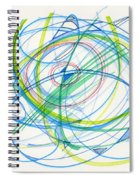 2012 Drawing #11 Spiral Notebook