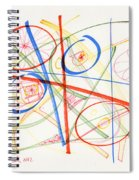 2012 Drawing #13 Spiral Notebook