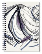 2012 Drawing #17 Spiral Notebook