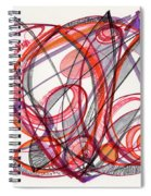 2012 Drawing #3 Spiral Notebook