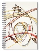 2012 Drawing #7 Spiral Notebook