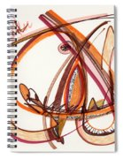 2012 Drawing #8 Spiral Notebook