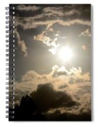 2012 Sunset October 26 Spiral Notebook