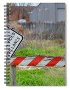24 Hour Surveillance Spiral Notebook