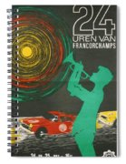 24 Hours Of Spa - Francorchamps Spiral Notebook