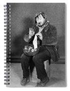 Silent Still: Single Man Spiral Notebook