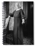 Silent Film Still: Woman Spiral Notebook