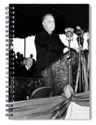 Franklin D. Roosevelt Spiral Notebook