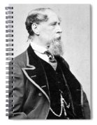 Charles Dickens (1812-1870) Spiral Notebook