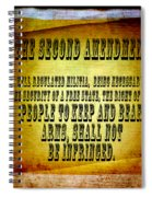 2nd Amendment Spiral Notebook