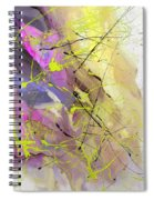 2nd  Symphony Of The Voyage Of The Stars  Spiral Notebook