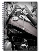 3 - Harley Davidson Series Spiral Notebook