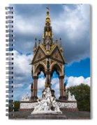 Albert Memorial Spiral Notebook
