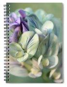 Alfalfa In Shades Of White Spiral Notebook