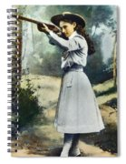 Annie Oakley (1860-1926) Spiral Notebook