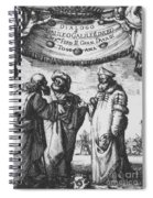 Aristotle, Ptolemy And Copernicus Spiral Notebook