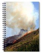Barnett Fire Spiral Notebook