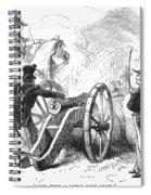 Battle Of Buena Vista Spiral Notebook