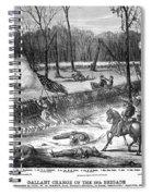 Battle Of Shiloh, 1862 Spiral Notebook