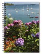 Bay Beside Glandore Village In West Spiral Notebook